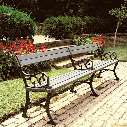 CAD Drawings Robinson Iron Scroll Bench