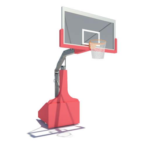 CAD Drawings IPI by Bison Portable Basketball Backstops