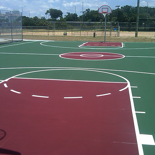 CAD Drawings SportMaster / SealMaster Basketball Court