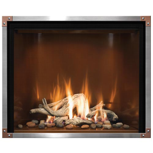 CAD Drawings Mendota Hearth Products Gas Fireplaces: Model FV41 Timberline/Décor