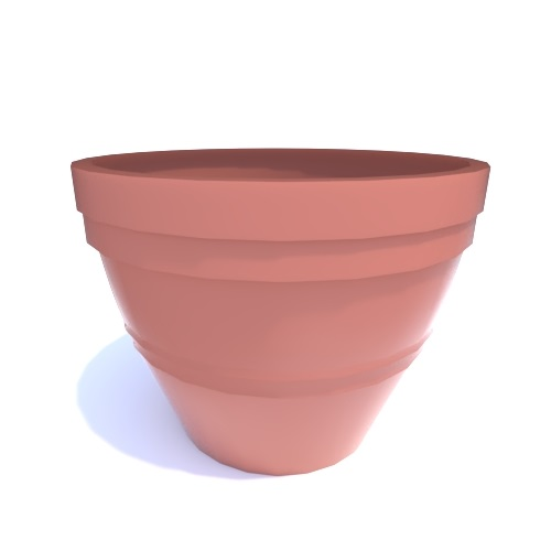 CAD Drawings BIM Models Riverside Plastics, Inc. Rolled Rim Planter